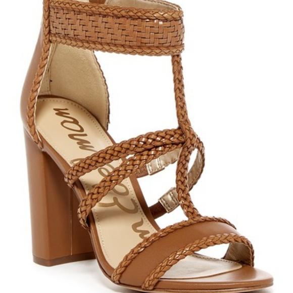cd38546cf3ec Sam Edelman Yordana Sandles Size 5.5 M